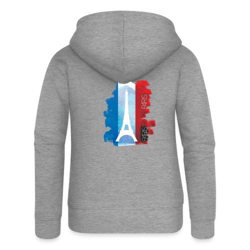 PARIS FRANCE - Women's Premium Hooded Jacket