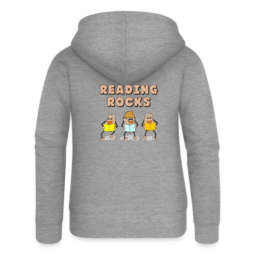 Reading Rocks - Women's Premium Hooded Jacket