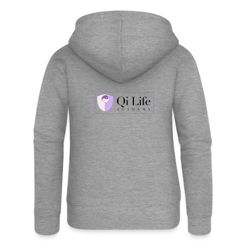 Qi Life Academy Promo Gear - Women's Premium Hooded Jacket