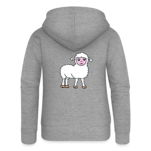 Minos le petit agneau - Veste à capuche Premium Femme