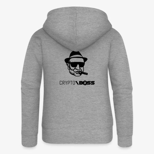 HODL cryptoboss-b - Women's Premium Hooded Jacket