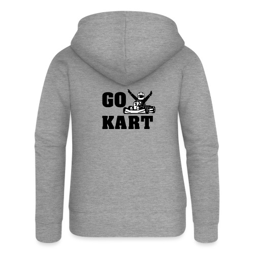 Go kart - Veste à capuche Premium Femme
