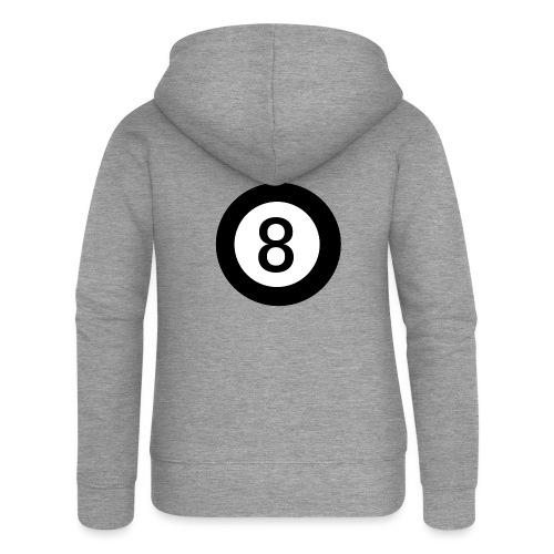 Black 8 - Women's Premium Hooded Jacket