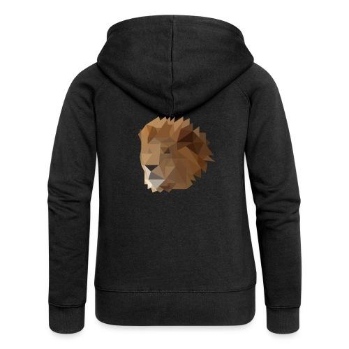 Löwe - Frauen Premium Kapuzenjacke