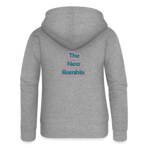 The Nwe Gambia - Women's Premium Hooded Jacket