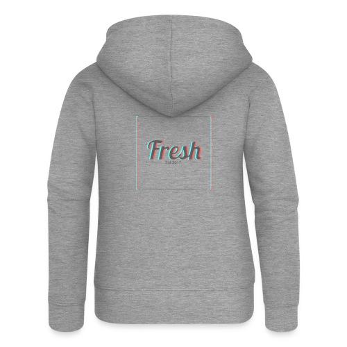 Fresh 3D logo - Women's Premium Hooded Jacket