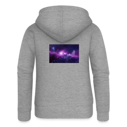 tshirt galaxy - Veste à capuche Premium Femme