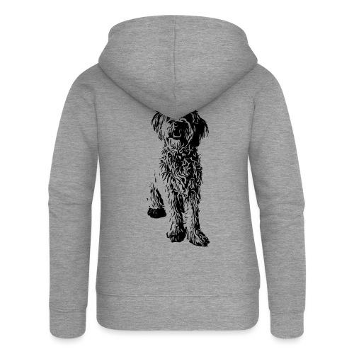 Golden Doodle Hunde Design Geschenkidee - Frauen Premium Kapuzenjacke