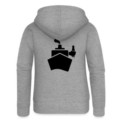 King of the boat - Frauen Premium Kapuzenjacke