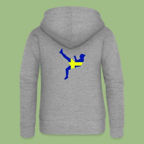 Ibra Sweden flag - Premium luvjacka dam