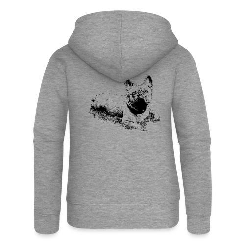 Französische Bulldogge / Frenchie / French Bulldog - Frauen Premium Kapuzenjacke