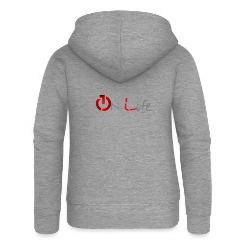OnLife Logo - Veste à capuche Premium Femme