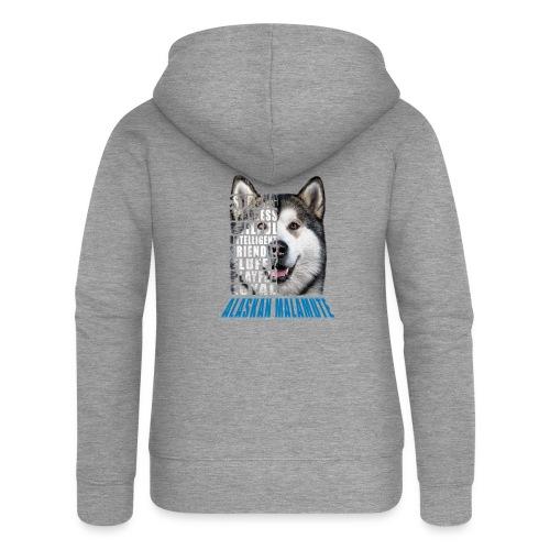Alaskan Blue - Women's Premium Hooded Jacket