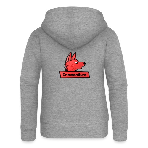 CrimsonAura Logo Merchandise - Women's Premium Hooded Jacket