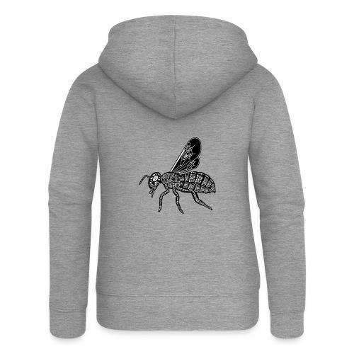 Skelett Biene - Vrouwenjack met capuchon Premium