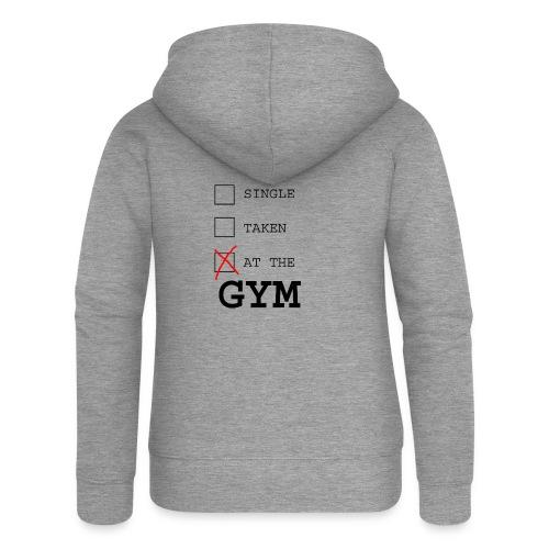 single taken gym - Vrouwenjack met capuchon Premium