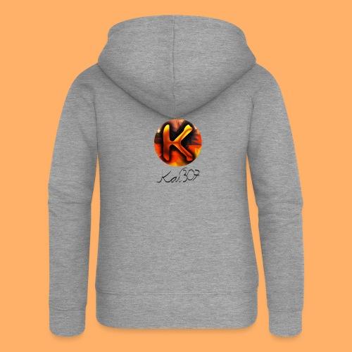 Kai_307 - Profilbild + Unterschrift Schwarz - Frauen Premium Kapuzenjacke