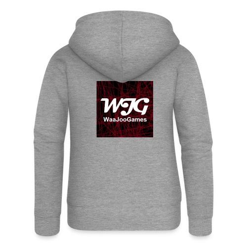 T-shirt WJG logo - Vrouwenjack met capuchon Premium