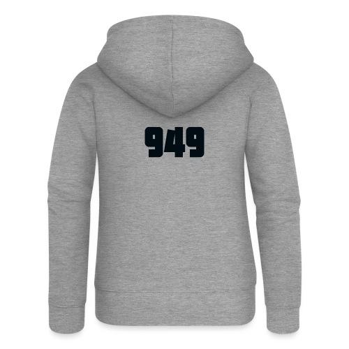 949black - Frauen Premium Kapuzenjacke