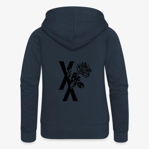 EST19XX ROSE - Vrouwenjack met capuchon Premium