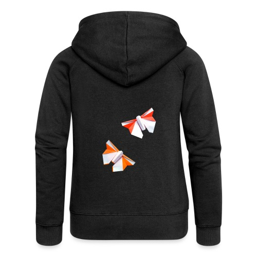 Butterflies Origami - Butterflies - Mariposas - Women's Premium Hooded Jacket