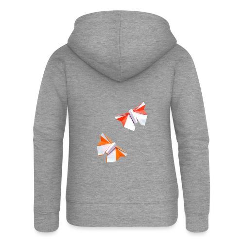 Butterflies Origami - Butterflies - Mariposas - Women's Premium Hooded Jacket