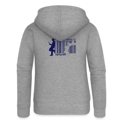 syn2cat hackerspace - Women's Premium Hooded Jacket