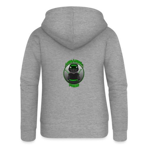 Assassinfrog logo 2 - Women's Premium Hooded Jacket