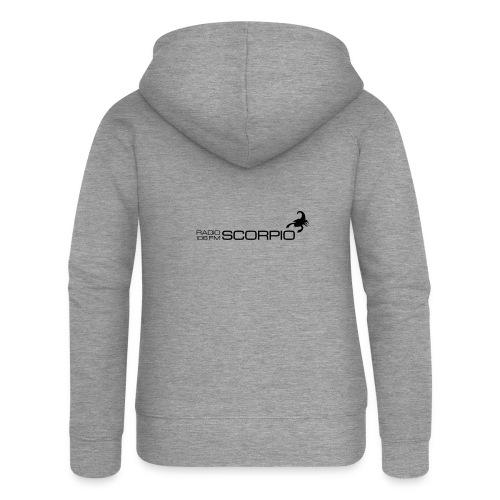 scorpio logo - Vrouwenjack met capuchon Premium