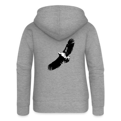 Fly like an eagle - Frauen Premium Kapuzenjacke