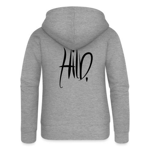 hild3 - Veste à capuche Premium Femme