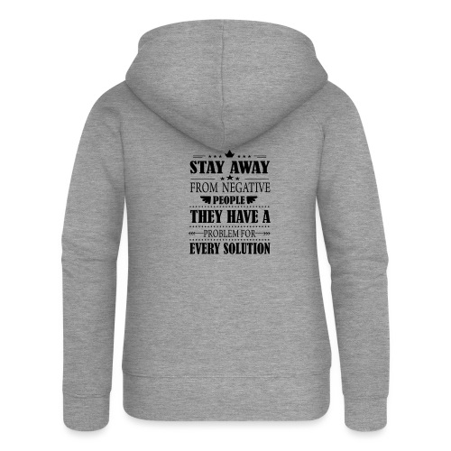 Stay away - Naisten Girlie svetaritakki premium