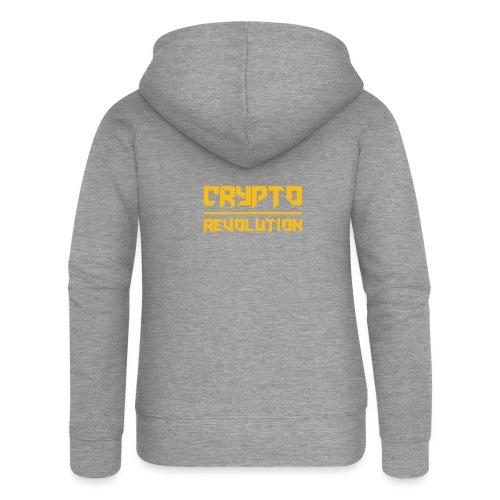 Crypto Revolution III - Women's Premium Hooded Jacket