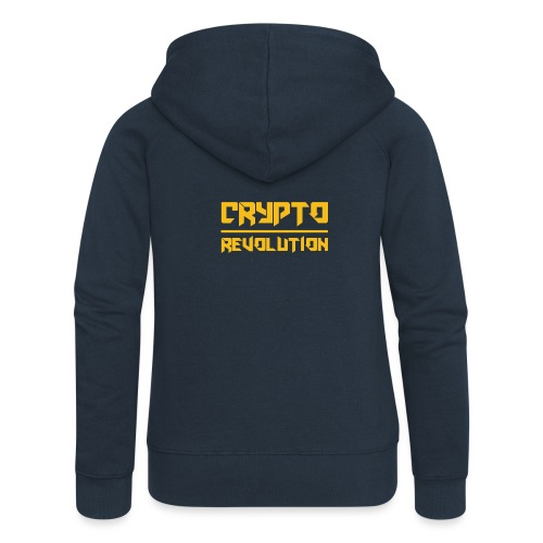 Crypto Revolution III - Women's Premium Hooded Jacket