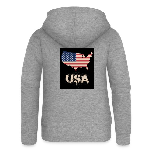 USA FLAG 4th of July With Flag - Premium luvjacka dam