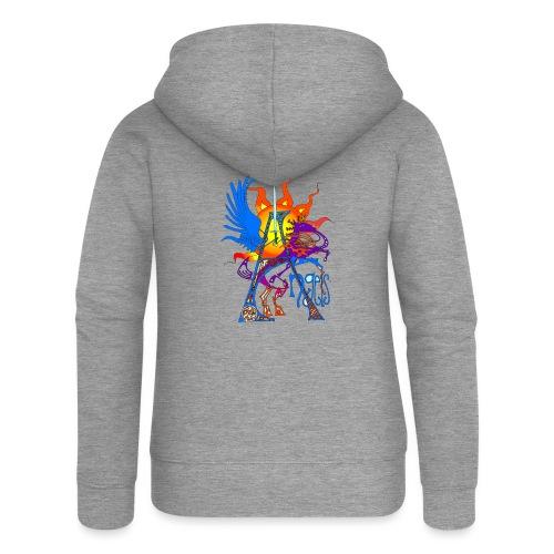 Angel Messenger - Women's Premium Hooded Jacket