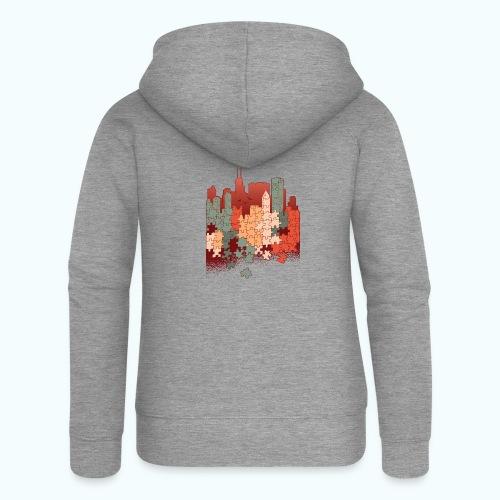 Puzzle fan - Women's Premium Hooded Jacket