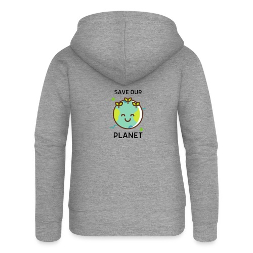 Save our planet LIGHT - Women's Premium Hooded Jacket