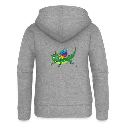 happy dragon - Frauen Premium Kapuzenjacke