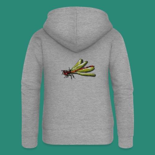 Libelle - Frauen Premium Kapuzenjacke