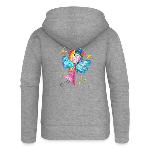 Happy Fairy 2 - Frauen Premium Kapuzenjacke