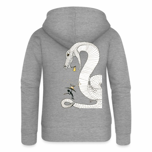 Poison - Fight against a giant poisonous snake - Women's Premium Hooded Jacket