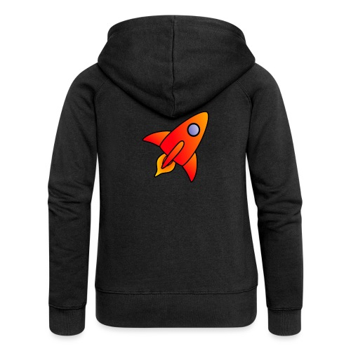 Red Rocket - Women's Premium Hooded Jacket