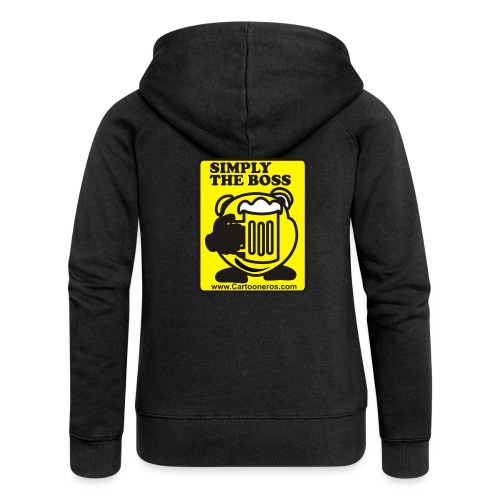 Simply the Boss - Women's Premium Hooded Jacket