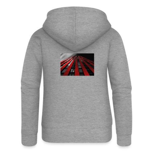 building-1590596_960_720 - Women's Premium Hooded Jacket
