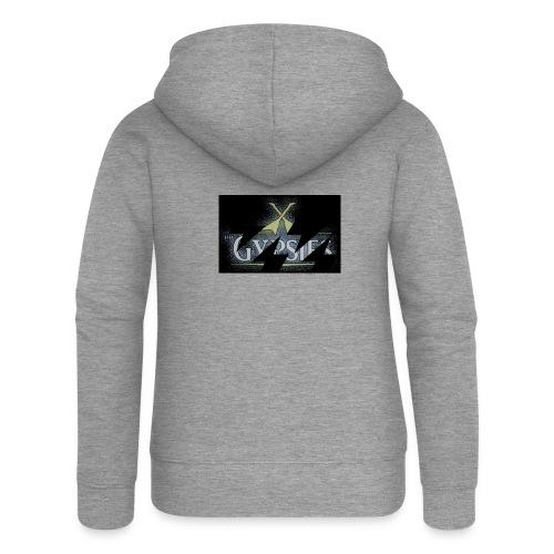 GYPSIES BAND LOGO - Women's Premium Hooded Jacket