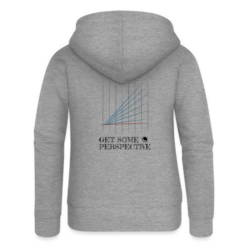 Get Some Perspective - Women's Premium Hooded Jacket