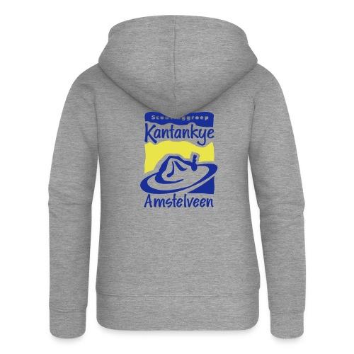 logo simpel 2 - Vrouwenjack met capuchon Premium