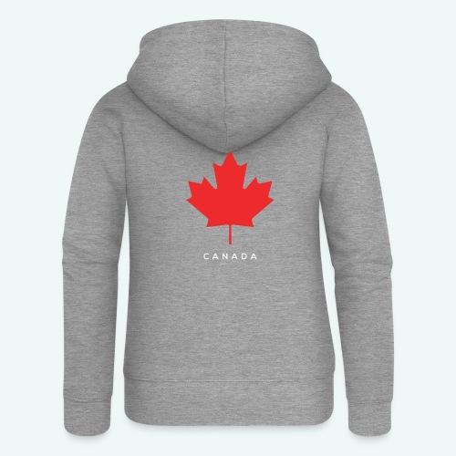 Canada-Lover - Frauen Premium Kapuzenjacke