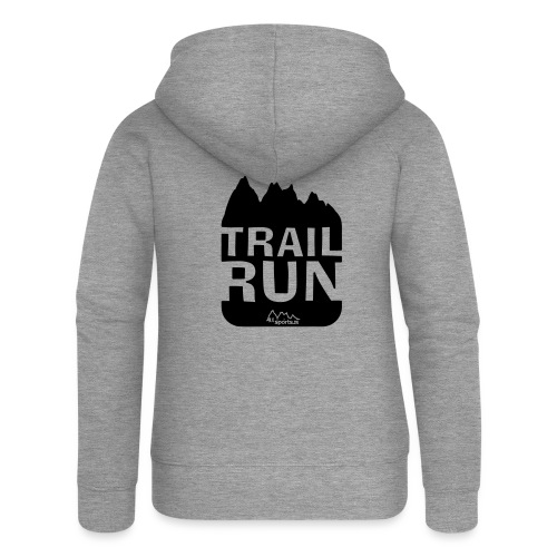 Trail Run - Frauen Premium Kapuzenjacke